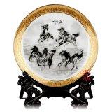 聚會禮品紀念盤 陶瓷盤定做加照片