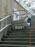 慶陽市專供斜掛式電梯曲線升降椅室外斜掛平臺