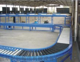 自动化设备与包装机械多层分拣 倾斜输送滚筒