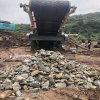 環保型移動式石料破碎機山東恆美百特移動式破碎站廠家