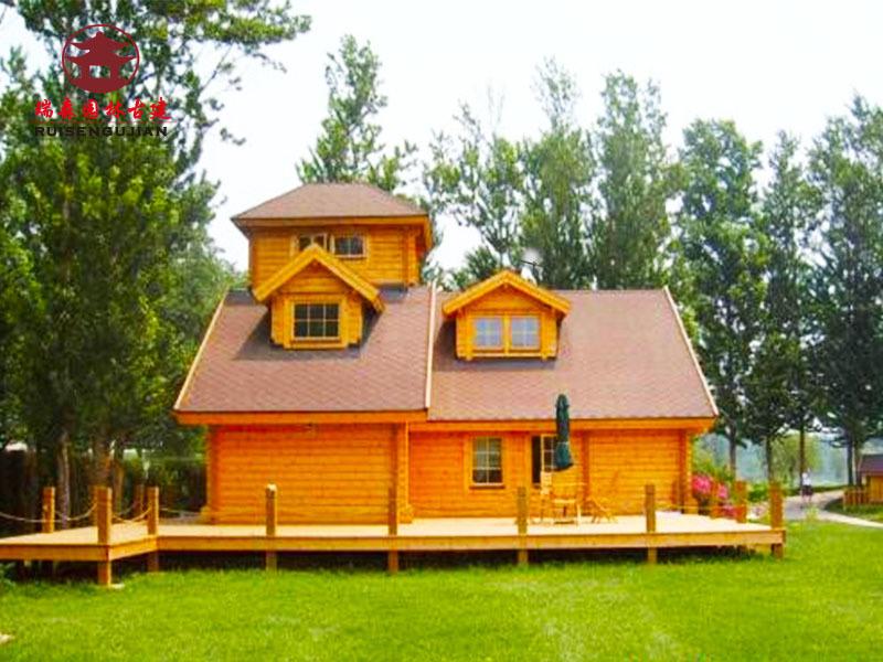 成都木屋廠家,獨棟環保木屋別墅設計修建