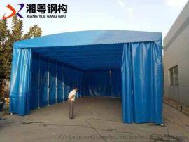 生产厂家订做汽车帆布推拉帐篷50元一平方