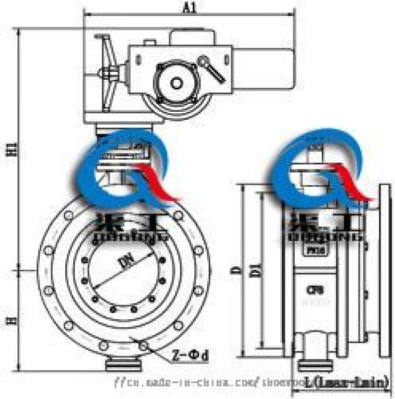 渠工SD941电动伸缩蝶阀选型