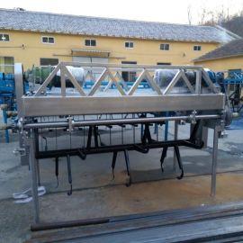 秸秆好氧双螺旋翻抛机 秸秆堆肥发酵翻堆机 秸秆堆肥发酵翻堆机