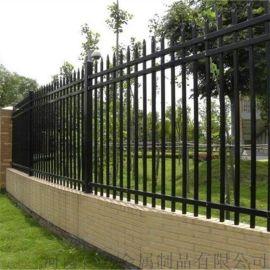 现货锌钢围墙护栏 庭院墙镀锌  围栏铁艺栏杆