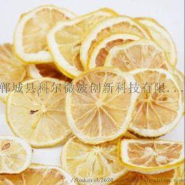 科尔新品微波柠檬片、苹果片干燥杀菌设备