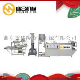 全自动豆腐皮机生产厂家  河南豆腐皮机多少钱一套