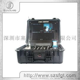 COFDM四路一体化无线便携式接收机   图像接收
