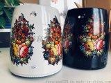 佛山彩高水轉印水貼紙加工 高溫遇熱變色 水壺水貼紙