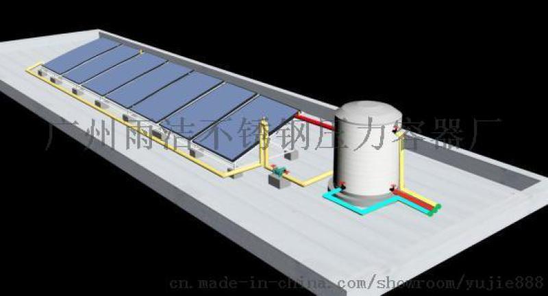 太阳能热水工程,空气能热水