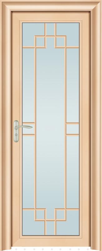 83系列定制铝合金静音卫浴平开门