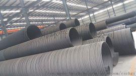湖南HDPE双壁波纹管、中空壁管、螺旋波纹管