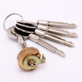 十字锁芯 定制機械保險箱锁芯 新中式铜材质十字锁芯来样来图