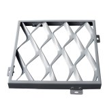 铝网板厂家直营定制铝拉网铝单板天花网格天花装饰材料