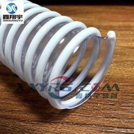 PVC螺旋塑筋增强软管, 牛筋管, 缠绕管四季柔软
