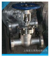 上海沪工不锈钢闸阀  Z41W-40P不锈钢法兰闸阀DN65  蒸汽高压闸阀