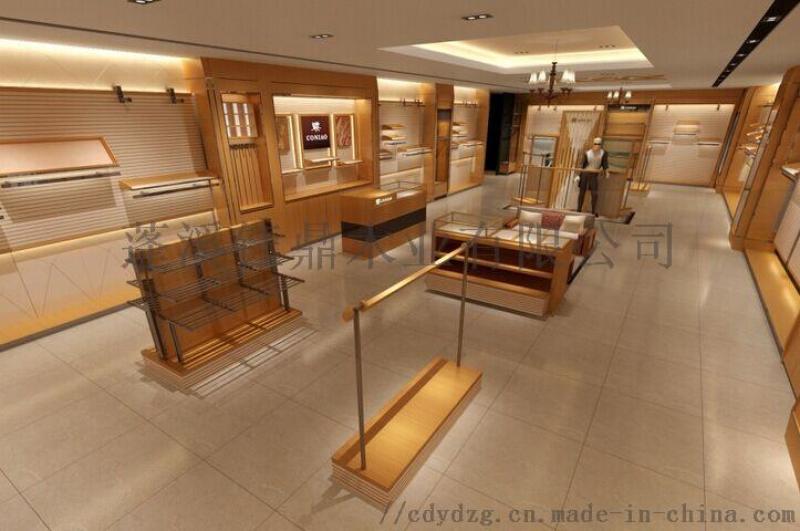 服装店应该选择什么样的服装货架或展柜展示架?