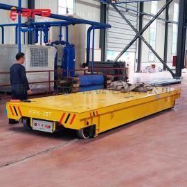 KPC56吨低压电动台车 自动保护轨道平车安全操作