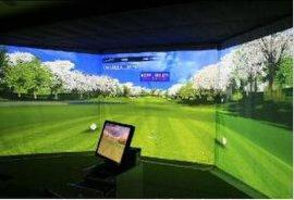 供应互发HF-M02模拟高尔夫 高尔夫模拟器 室内高尔夫