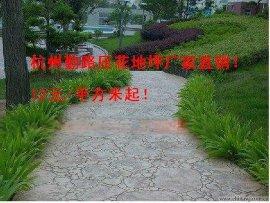勤路;新农村建设地面压花绿化工程厂家
