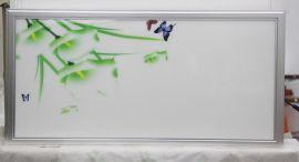 长方形蝶恋花图案集成吊顶LED灯