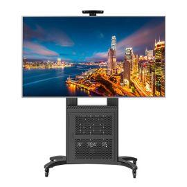 NBAVG1800-70-1P50-65-80寸液晶电视架落地电视支架移动推车视频会议 电视机挂架