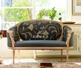 美若婳家具高端定制欧式新古典实木双人沙发复古怀旧欧式美式乡村雕花沙发别墅家具s14