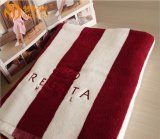星级酒店厂家加工定做全棉彩色条纹浴巾 运动毛巾酒店色织毛巾