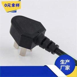 厂家直销 CE欧式插头线 欧标电源线 欧规三插线3*0.75*1.5米现货