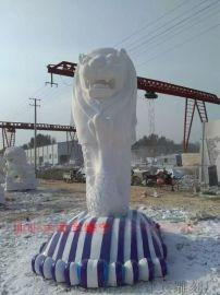 石雕鱼尾狮喷泉专业制作厂家