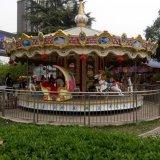 新款36座轉馬價格 公園大型兒童遊樂設備豪華轉馬