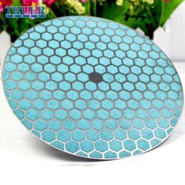 金刚石研磨盘 树脂键金属背底研磨盘 替代进口MD磨盘 川禾TRUER