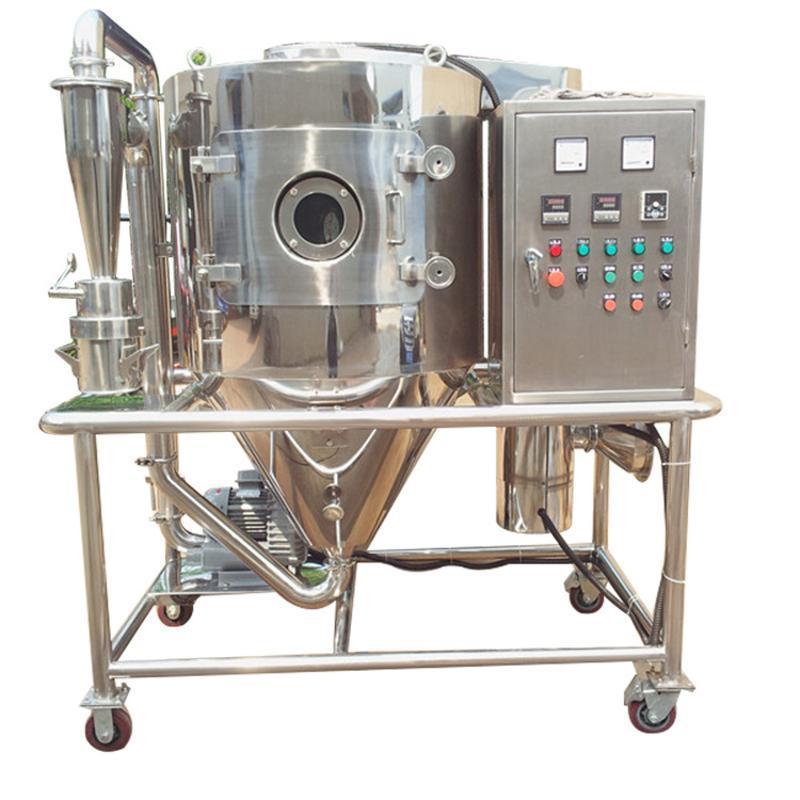 染料中間體化工噴霧乾燥機 液體變粉高速離心噴霧乾燥機設備