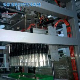 张家港市全自动抓取式装箱机/多型号气缸移位抓取式装箱机