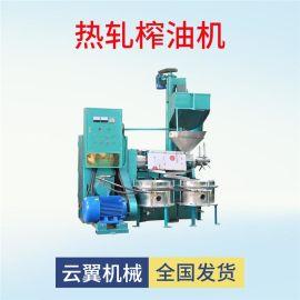 全自动螺旋榨油机 时产300公斤葵花籽菜籽榨油机 榨油过滤一体