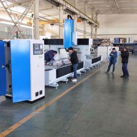 铝型材三轴数控**加工中心移动篷房数控加工中心