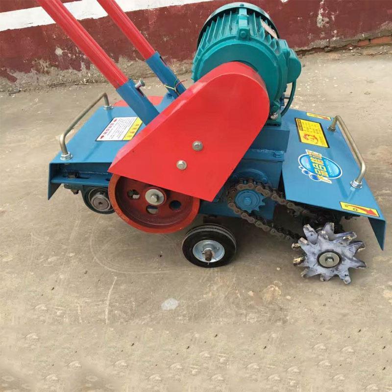 混凝土地面清灰机  600型**路面清理机 反向刨毛电动清渣机厂