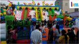 山东户外大型儿童充气滑梯最新款推荐