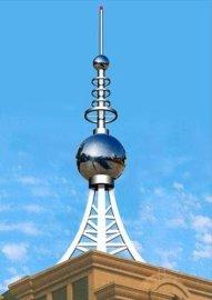 楼顶装饰避雷塔, 安装
