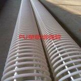 內徑16-300㎜路面拋丸機軟管PU耐磨吸塵風管新疆吸棉機抽吸管