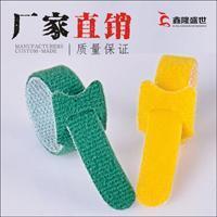 深圳厂家直销 可印字 耐用 双面强力t型尼龙 带扣魔术贴扎带
