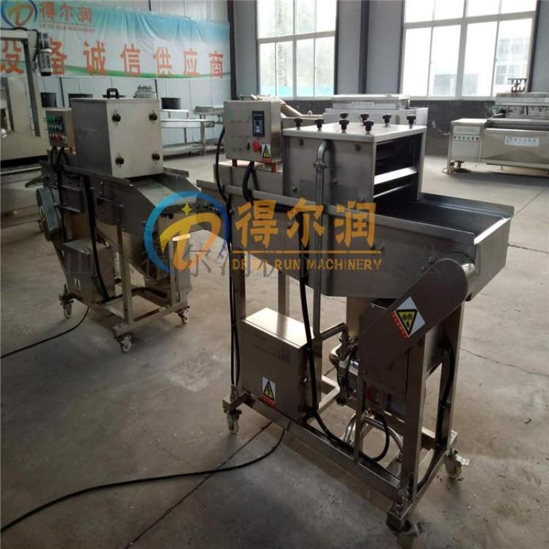 省人工DR京果裹糖机型号 京果裹糖浆上芝麻机器材质