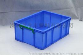 供应食品塑料周转箱标准规格尺寸直销带盖塑胶箱子