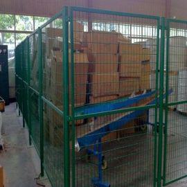 车间机械围栏网 仓库设备安全隔离网