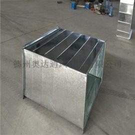 镀锌焊接风管 圆形白铁皮风管高度强寿命长