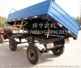 农业拖拉机挂车自卸拖斗平板拖斗 拖车配件