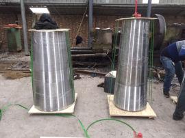 304卷制钢结构锥形管偏心异径管规格