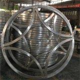 上海 焊接方通铝花格订做 喷涂铝窗花规格