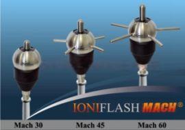 法国法兰西避雷针,MACH60主动式提前放电避雷针