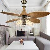 现代吊扇灯 52寸欧式芭蕉扇东南亚风扇 客厅卧室餐厅装饰风扇灯